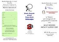 Brochure Maurizio Spaccazocchi gen. 2009 - Banda Musicale