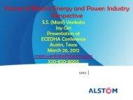 (Mani) Venkata, Principal Scientist, Alstom Grid - ecedha