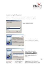 Installation von SpinFire Professional - 1 - - Infotech Enterprises GmbH