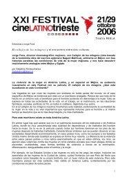 El callejón de los milagros - Festival del Cinema Latino Americano a ...
