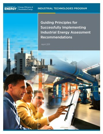 Guiding Principles for Successfully Implementing Industrial Energy ...