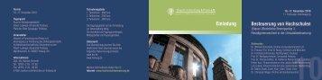 Referenten - Besteuerung von Hochschulen