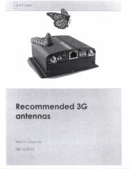 Recommended 3G antennas - Richardson RFPD