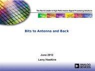 Bits to Antenna and Back - Richardson RFPD