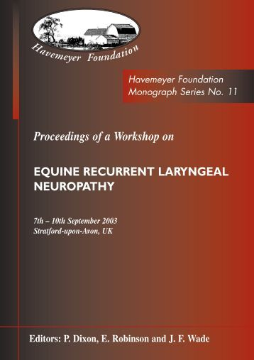 Proceedings of a Workshop on - The Havemeyer Foundation