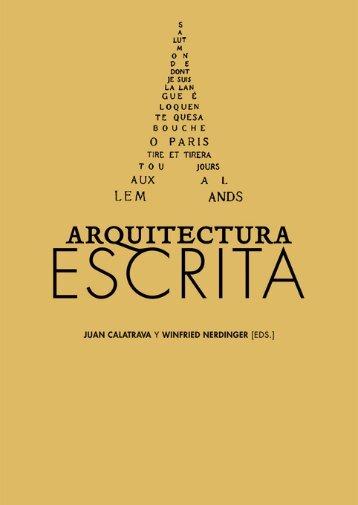 Arquitectura escrita - Círculo de Bellas Artes