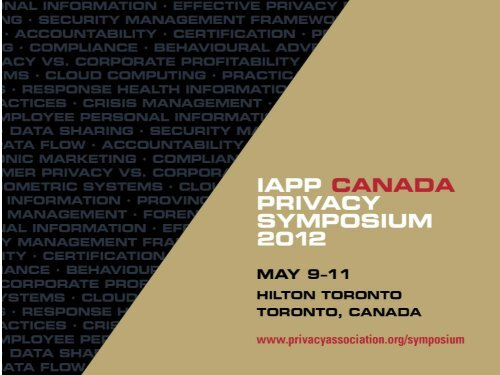 Presentation 2 - International Association of Privacy Professionals