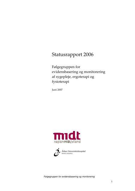Statusrapport 2006