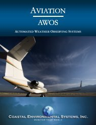 AVIATION - Coastal Environmental Systems