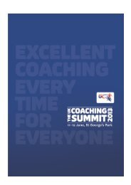 Revised 15 May 2013 - sports coach UK