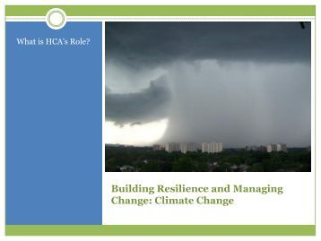 Building Resilience and Managing Change - Ontario Centre for ...