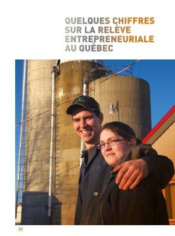 quelques chiffres sur la relève entrepreneuriale au québec