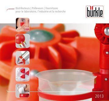 Catalogue 2013 - Bürkle GmbH