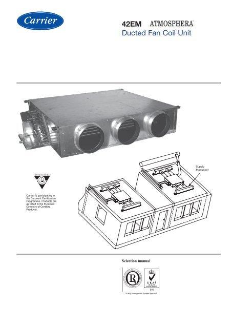 42EM Ducted Fan Coil Unit
