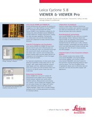 Leica Cyclone 5.8 VIEWER & VIEWER Pro - Plant Design Solutions