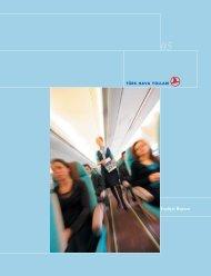 Faaliyet Raporu, 2005 - Turkish Airlines