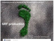 SRF production - Advanced Integrated Waste Management and WtE ...