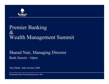 Premier Banking & Wealth Management Summit - ITP.net