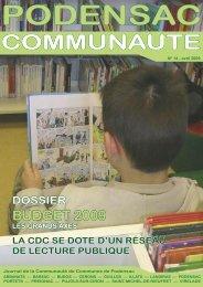 dossier spécial budget 2009 - Mairie de Portets