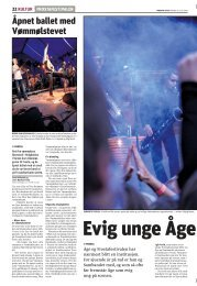 Evig unge Åge varmet Frosta (Trønderavisa ... - Frosta Festivalen