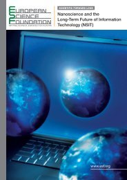 Nanoscience and the Long-Term Future of Information Technology ...