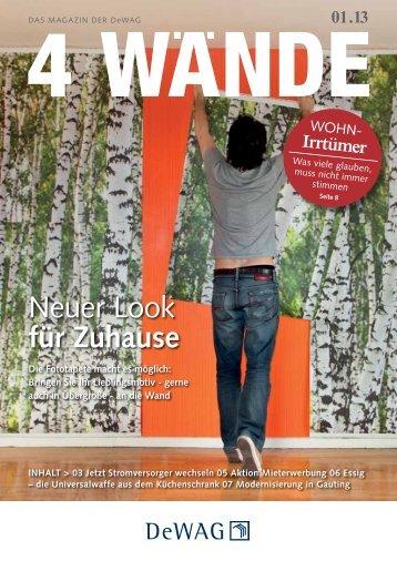 Neuer Look für Zuhause - DeWAG GmbH