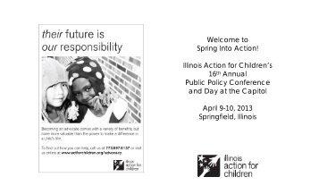 SIA program.2013 - Illinois Action for Children