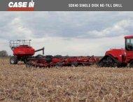 SDX40 SINGLE DISK NO-TILL DRILL - Centre Agricole.ca
