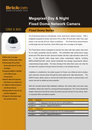 Megapixel Day & Night Fixed Dome Network Camera
