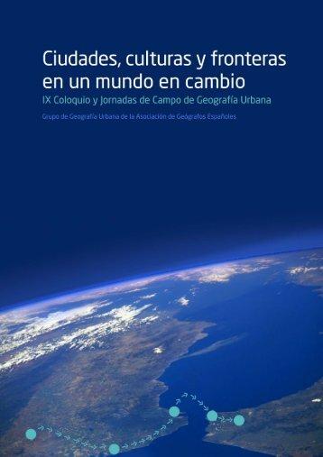 Ciudades, culturas y fronteras en un mundo en cambio