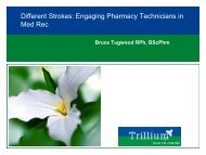 P2 - Different Strokes Engaging Pharmacy Technicians in Med Rec