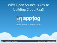 Why Open Source is key to building Cloud PaaS - The Linux ...
