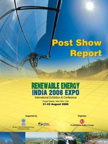Post Show Report Post Show Report