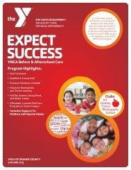 Afterschool Care Flyer - YMCA of Orange County