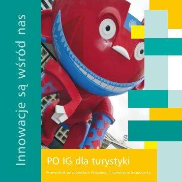 PO IG dla turystyki - Program Innowacyjna Gospodarka