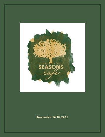 November 14-18, 2011