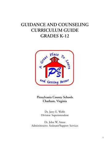 guidance and counseling curriculum guide grades k-12