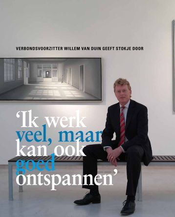 Verbondsvoorzitter Willem van Duin - Verbond van Verzekeraars