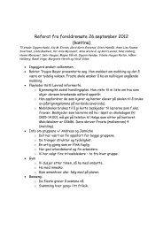 Referat fra foreldremøte 26.september 2012 ... - Frosta kommune