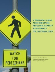 a technical guide for conducting pedestrian safety assessments
