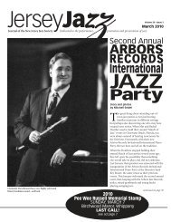 ARBORS - New Jersey Jazz Society