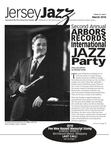 ARBORS - New Jersey Jazz Society