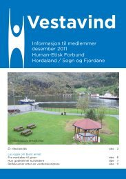 Desember 2011 - Human-Etisk Forbund