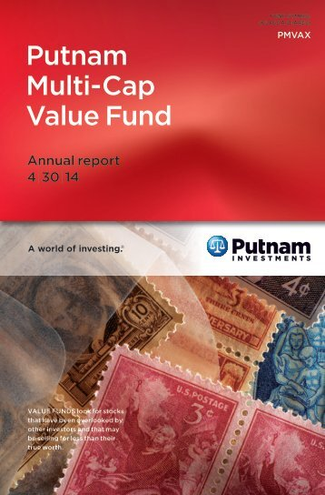 Multi-Cap Value Fund Annual Report - Putnam Investments