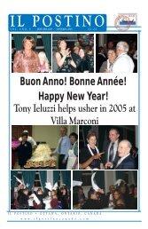 Buon Anno! Bonne Année! Happy New Year! - Il Postino