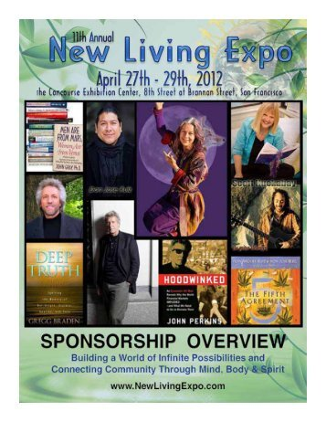 SpoNSoRSHip oveRview - New Living Expo
