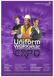 Download Media Kit - Uniform and Workwear Expo