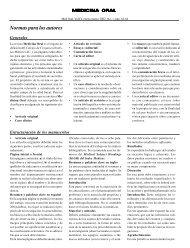 Normas para los autores - Imbiomed