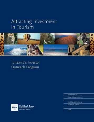 Attracting Investment in Tourism