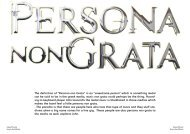 """The definition of """"Persona non Grata"""" is an ... - Hallowed.se"""